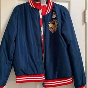 Other - NWT-Size XL (14/16) Wonder Woman Bomber Jacket